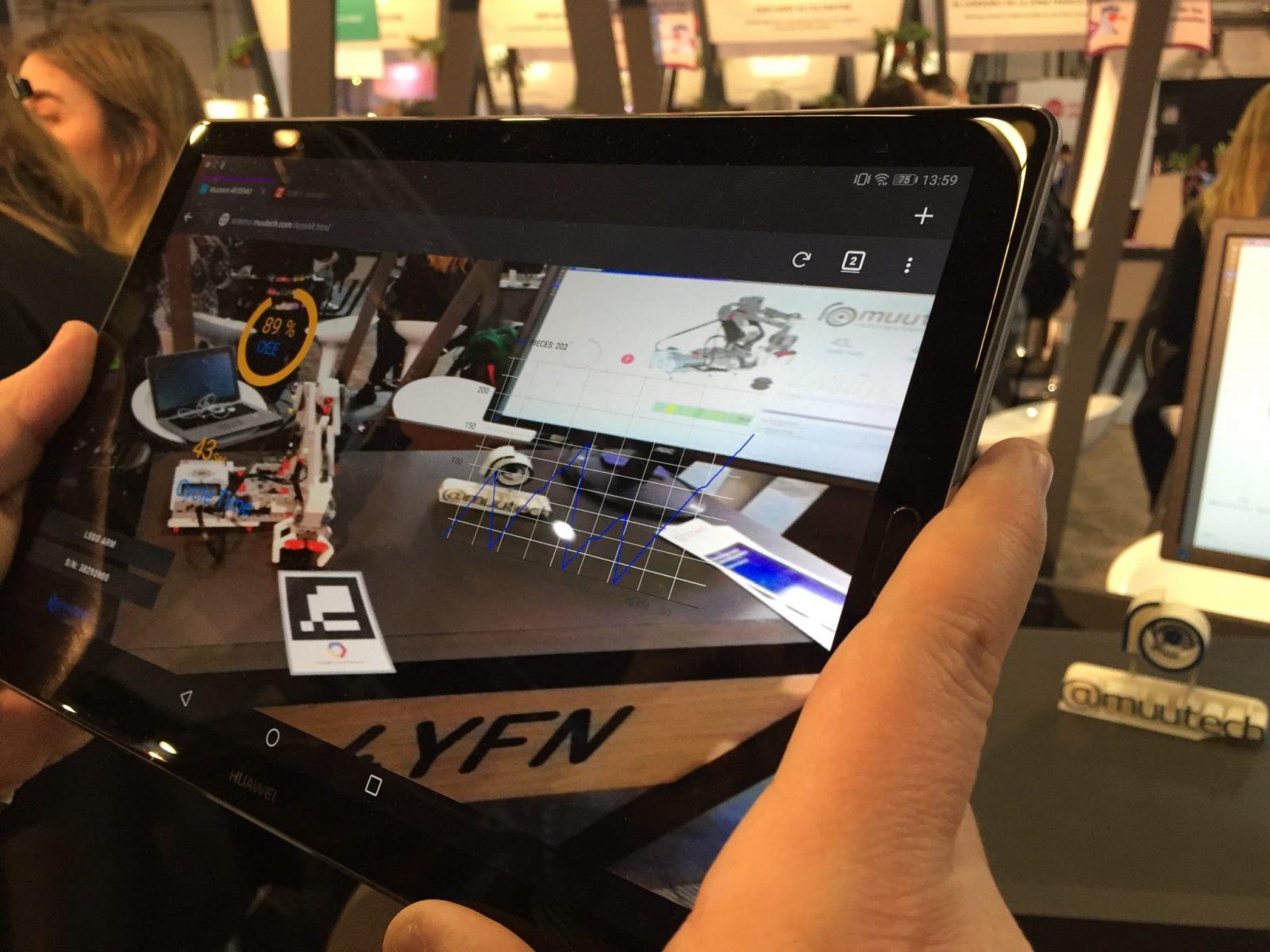 monitoring augmented reality muutech 4yfn